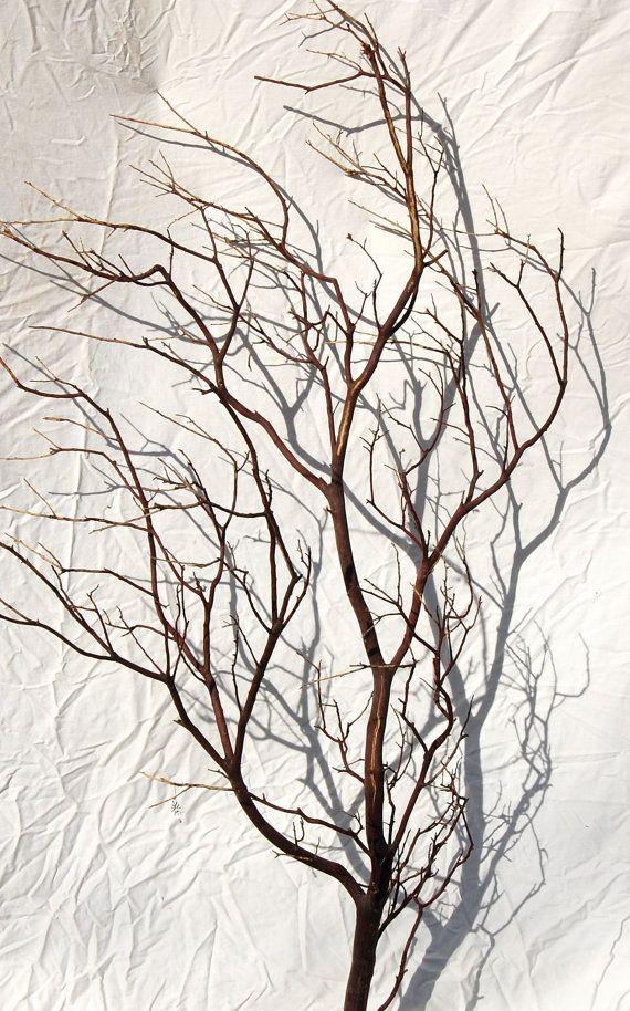 Natural Red Manzanita branch 18 5 pack by BakerArtisanDesigns, $35.00