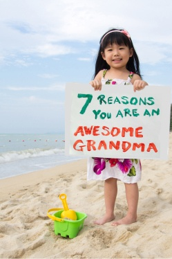 Awesome Grandma!
