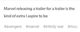 Ok but this is exactly what I thought when I saw the trailer for the trailer