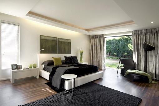 Black Large Bed