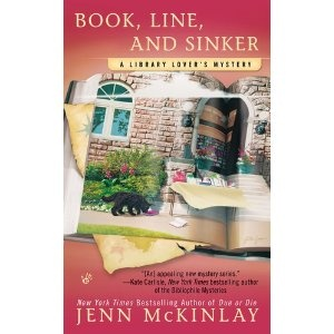 Book, Line, and Sinker (A Library Lover's Mystery): Books Covers, Libraries Lovers, Mystery Series, Cozy Mystery, Books Worth, Lovers Mystery, Sinker Libraries, Mystery Books, Jenn Mckinlay