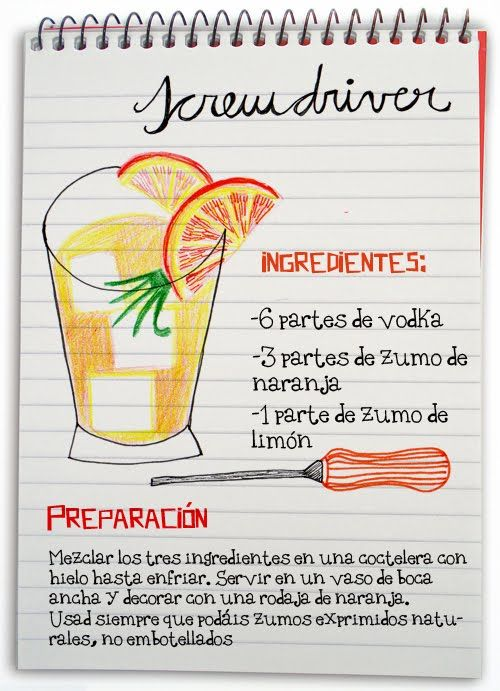 Screwdriver: cóctel con vodka