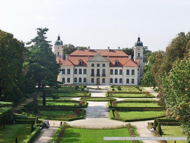 Pałac - Muzeum Zamoyskich w Kozłówce