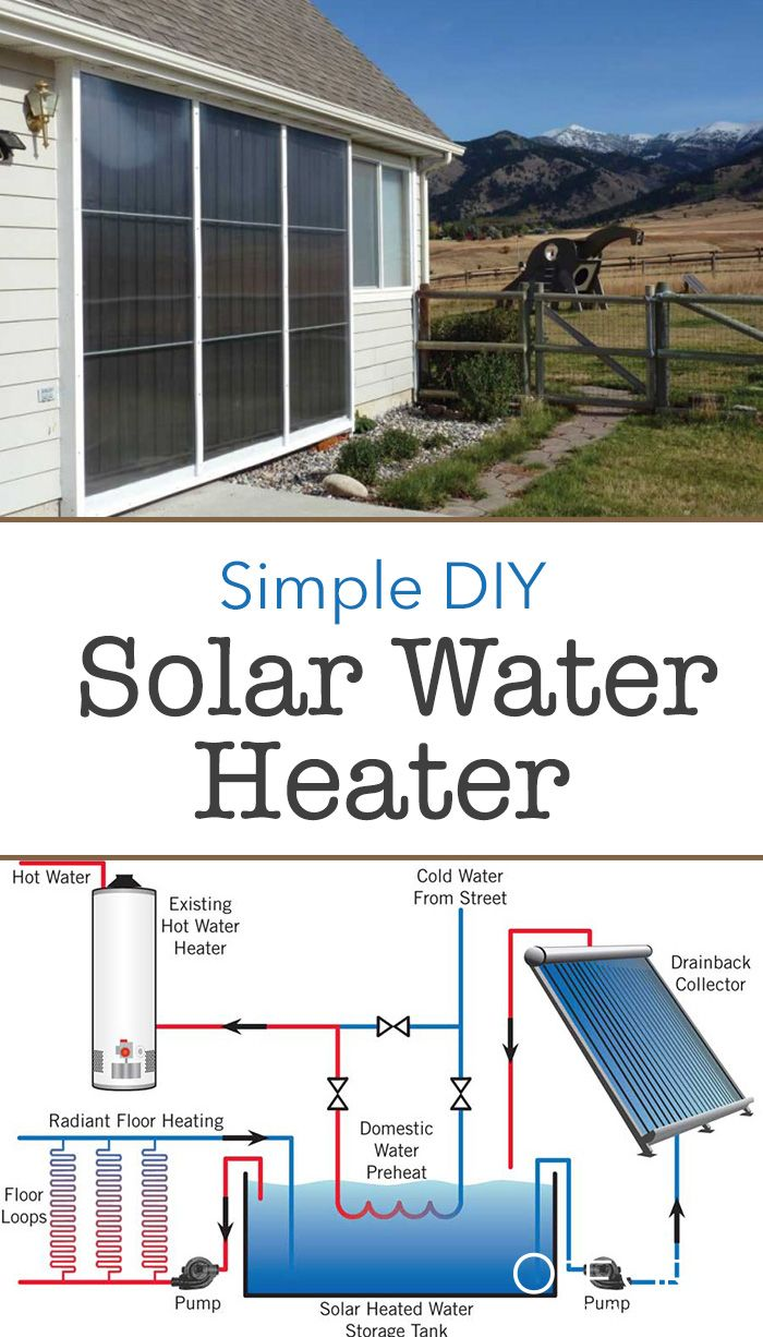 Diy Solar Projects Part 2 Simple All In One Solar Water