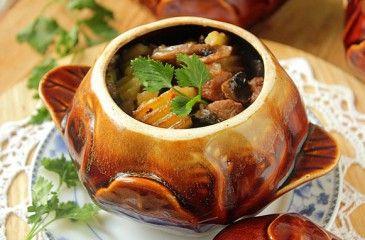 Жаркое из свинины по-домашнему - с картошкой и грибами, в духовке или в мультиварке, фото. Рецепт жаркого из свинины по-домашнему в казане, видео