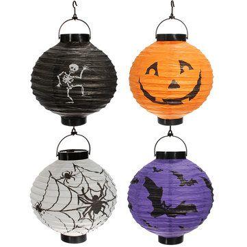 Sólo €2.14, compra mejor Colgando portátil linterna de papel / plegable decoraciones de fiesta de halloween venta en línea en pricio del wholesale. Almacén de EE.UU./UE.