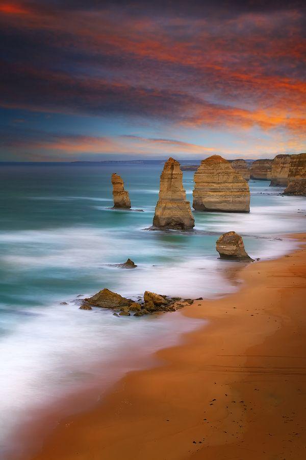 the twelve apostles. victoria, australia.
