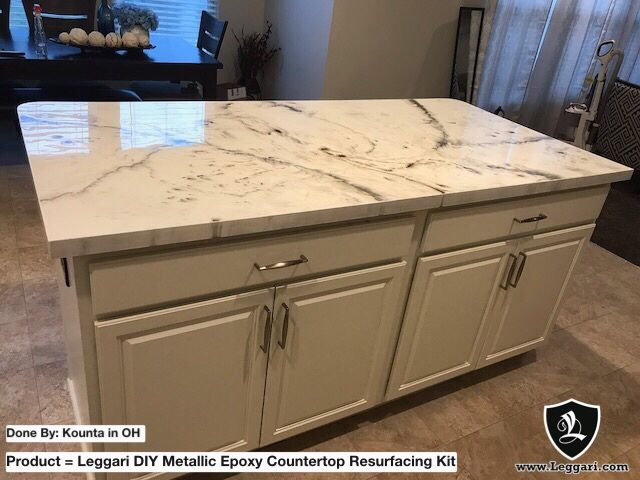 Epoxy Countertops Diy Homeowner They Turned Out Great And Actually Look Better In Person I Did It All By Mysel Diy Countertops Countertops Epoxy Countertop