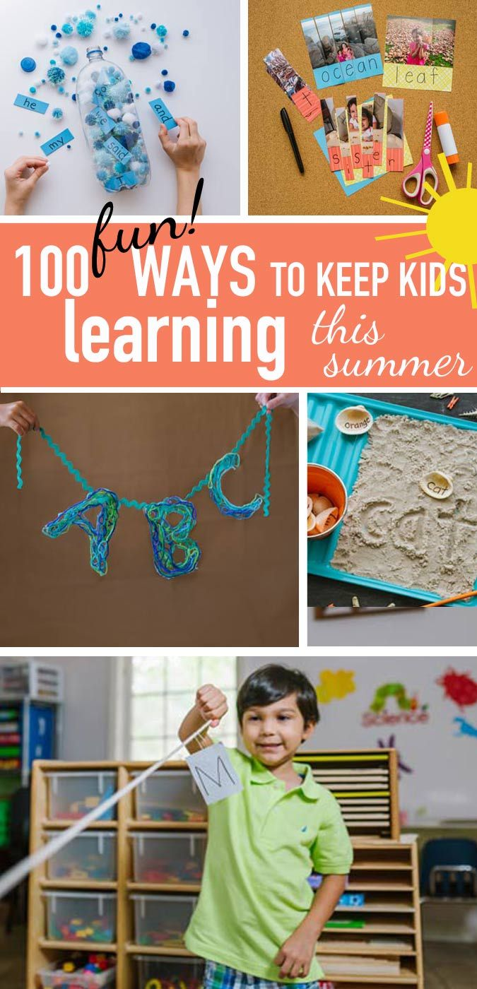These 100 Awesome Ideas Keep Kids Learning