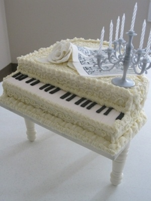 piano cake - this is so cool!