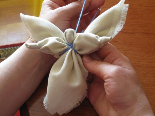 кукла ангел своими руками
