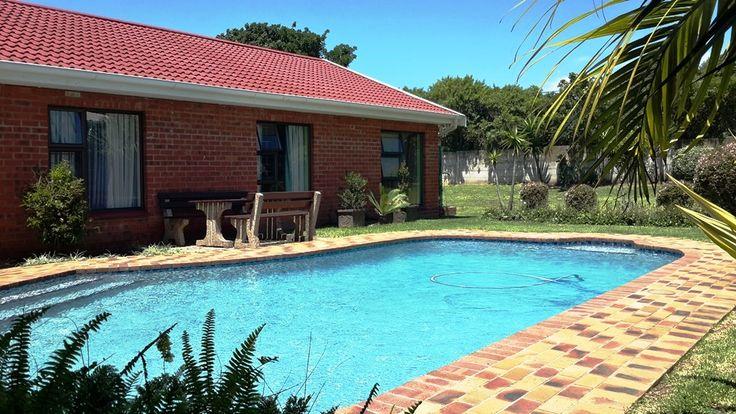 Lovely aqua-blue, family sized pool for those lazy, hot summer days!
