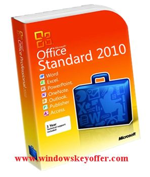 Office Standard 2010 retail versions with the download link and a genuine license key ,only $29.99