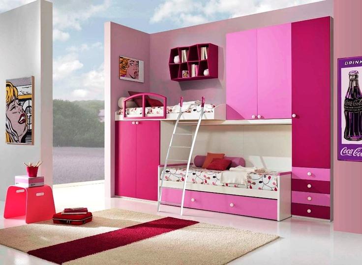 Pink Girl Room Image Teen Girl Room Ideas Pinterest