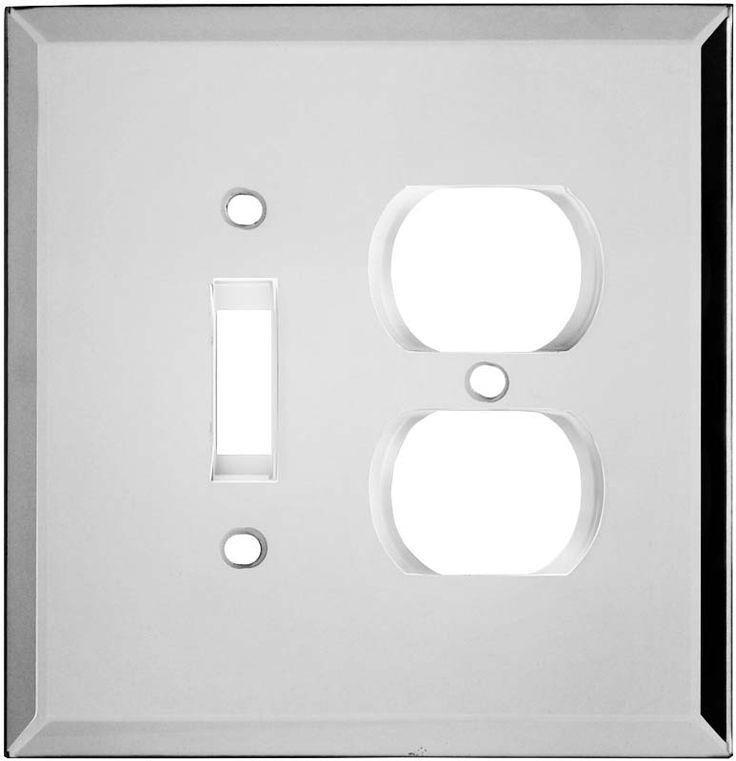 Glass Mirror Wall Plates Amp Outlet Covers Home Accents