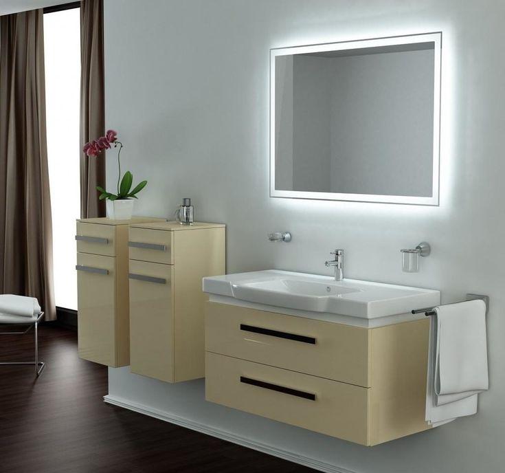 led bathroom vanity lights bathroom cabinets with lights bathroom design ideas images 09
