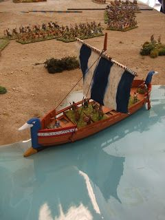 OZWargamer: Hittite & Sea people Vs New Kingdom Egyptian Demo game