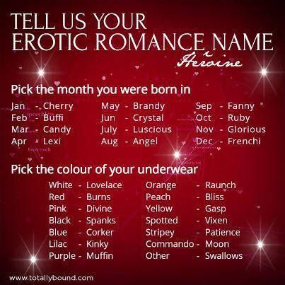 erotic romance name                                                                                                                                                                                 More