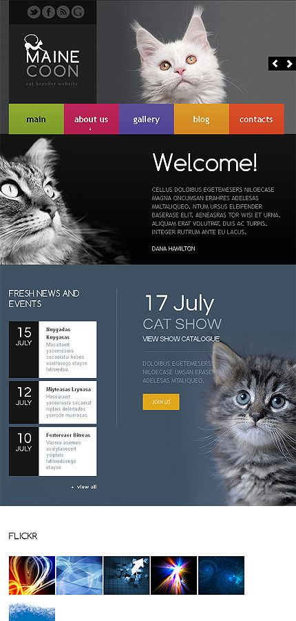 #animals #pets #website #template #nature #cats #dogs