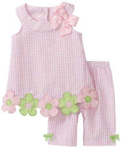 Bonnie Baby Baby-girls Infant Flower Applique Seersucker Capri Set, Pink, 24 Months Bonnie Baby http://www.amazon.com/dp/B006J3XICY/ref=cm_sw_r_pi_dp_EP5Ntb1YAN8N99QF