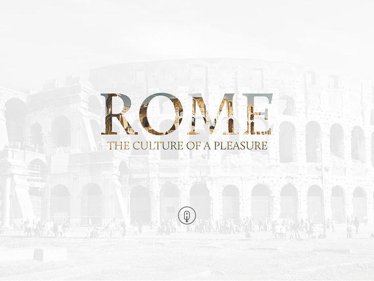 Rome Tourism Web UI Design by Emiliano Cicero