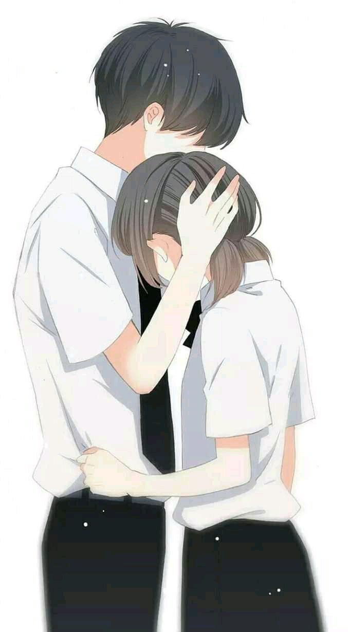 Pin On Cover Wattpad Anime couple so sweet wallpaper