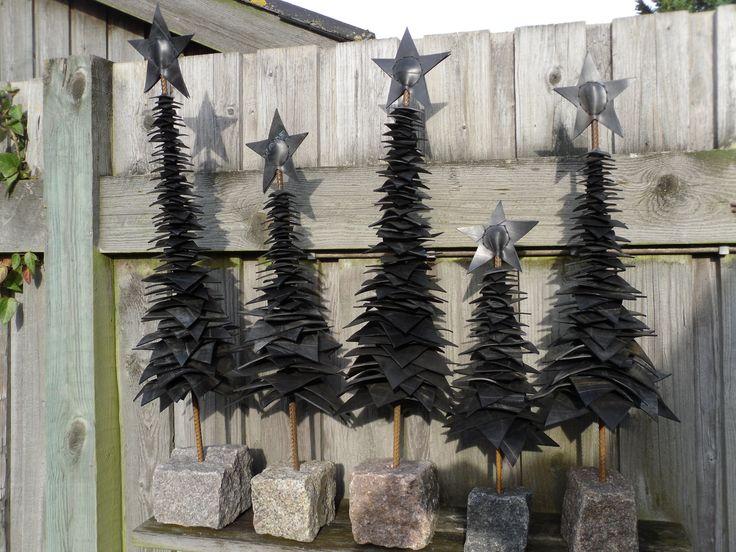 Juletræer i gummi