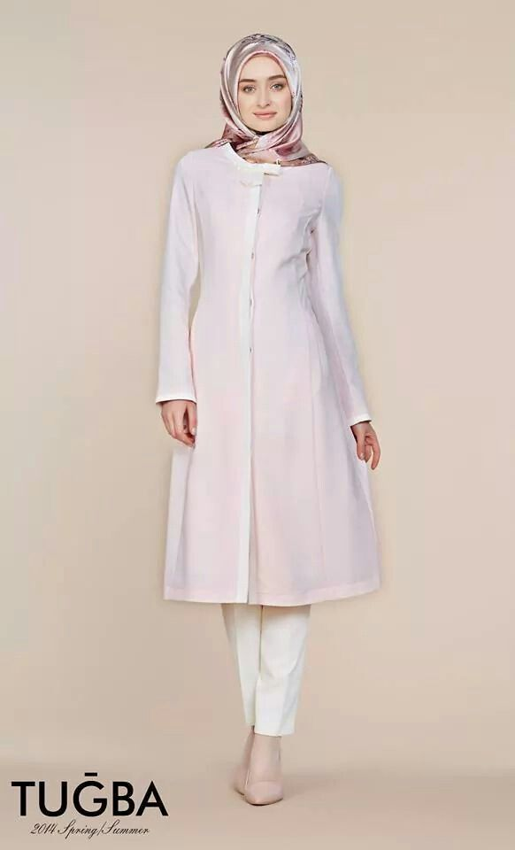 Turkish hijab fashion - the coat dress. This is what you call simple and elegant :)