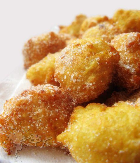 Sweet rice fritters, an Italian recipe for #Carnival | Frittelle di riso #VEGAN recipe