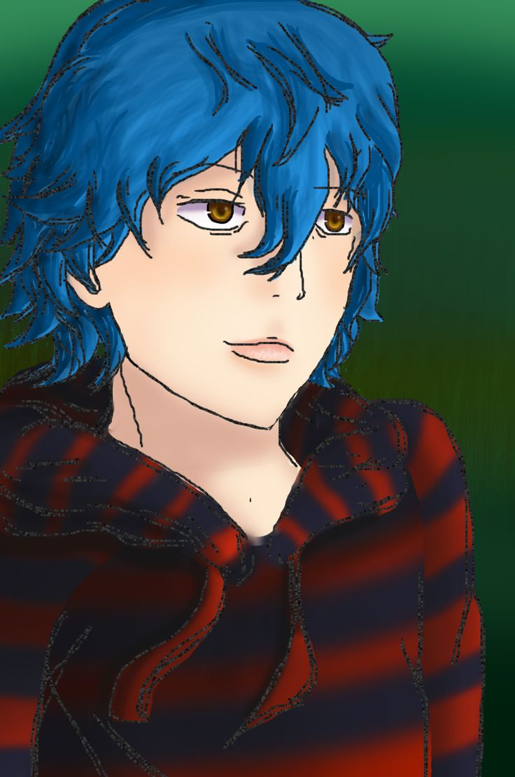 Randy Makope - blue-haired boy addopted by a nice Afroamerican marriage :D