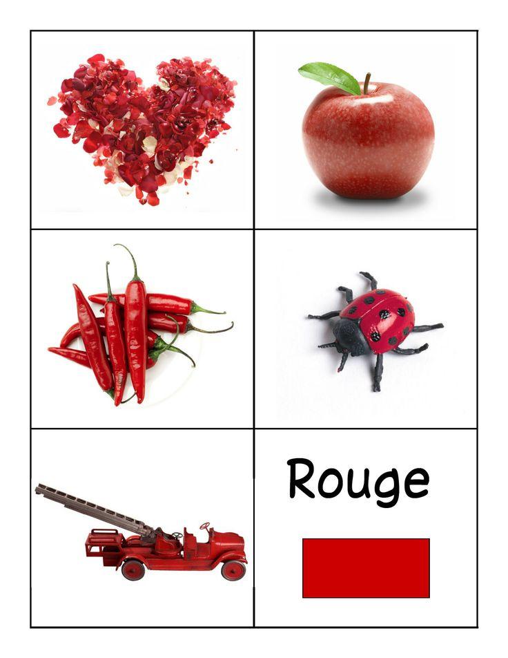 kleuren leren rood