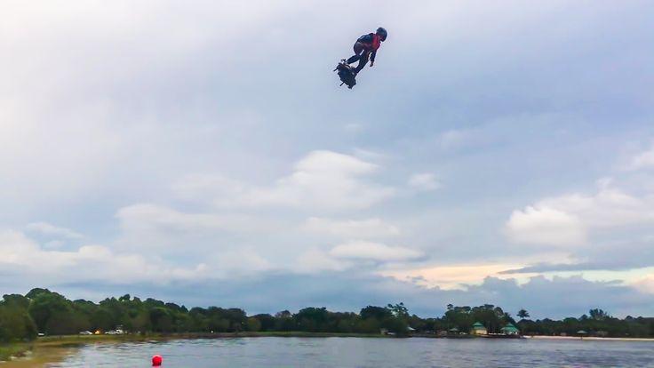 VIDÉO : Voler n'a jamais été aussi génial ! L'entreprise Zapata Racing a conçu…