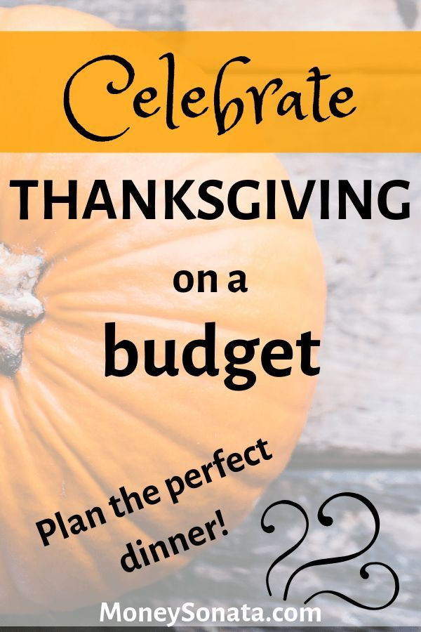 Celebrate a frugal Thanksgiving dinner this year using these DIY Thanksgiving de…