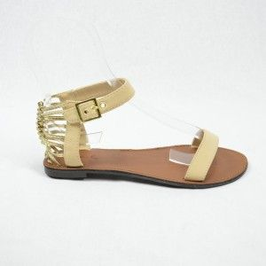 Hot nude/tan simmer sandals/flats. Perfect for day or night! Now only $38 (were $48). www.heelheaven.com.au All shoes on sale