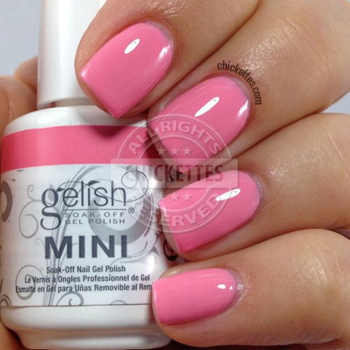 Gelish Cinderella Collection - Ella of a Girl - swatch by Chickettes.com