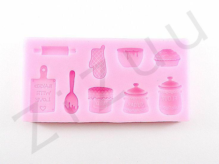 """Stampi per dolci in silicone """"accessori da cucina"""" #ZiZuu #pasticceria #cakedesign #prodotti"""