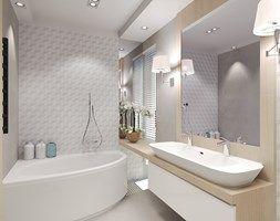 Łazienka dla dwojga - zdjęcie od Agata Hann Architektura Wnętrz