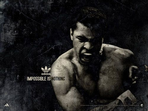 """adidas: Muhammad Ali """"impossible is nothing"""" collection"""