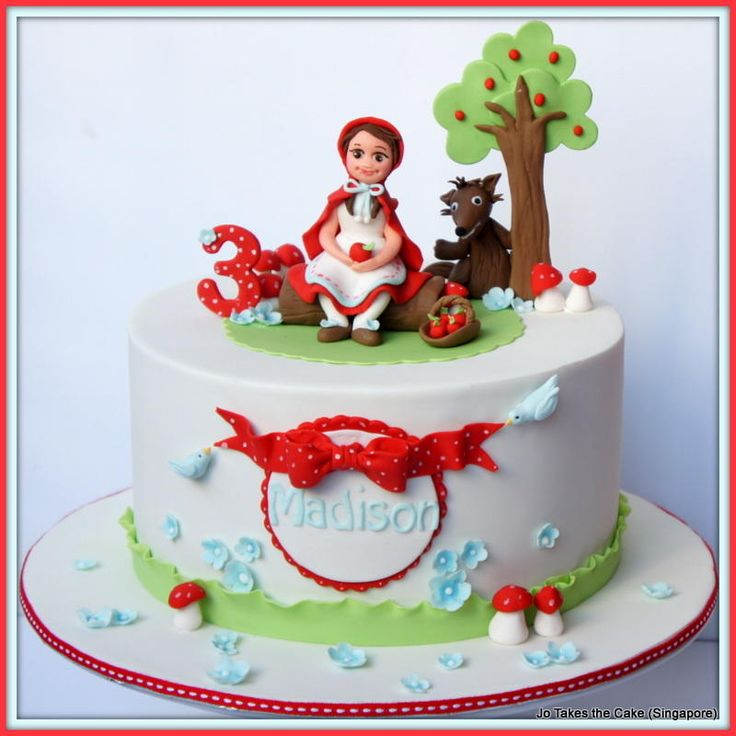 Little Red Riding Hood - Cake by JoTakestheCake