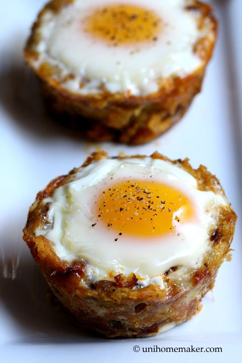 Leftover Stuffing and Chorizo Egg Cups