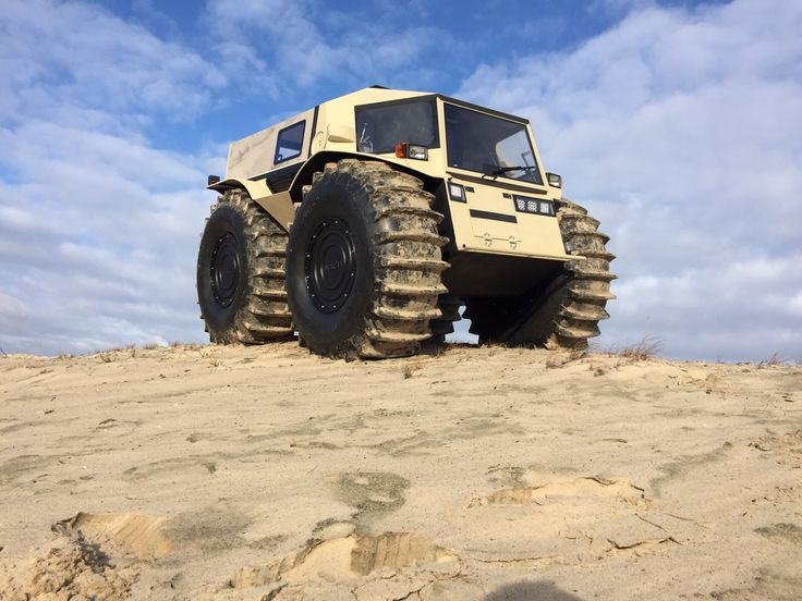 Would you like to go wherever the hell you want? Using its self-inflated tires, Russia's SHERP ATV can give you that pleasure. It will climb over obstacles as tall as 27.5 inches, swim with ease, turn like a tank and look awesome in any situation for only $49,000 worth of Rubles.