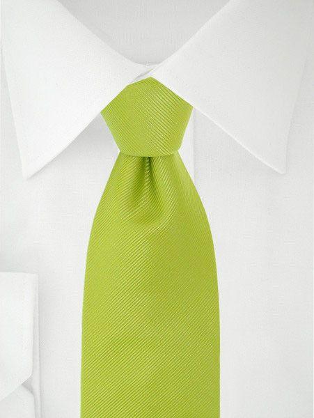Clipstropdas Groen Lime Uni