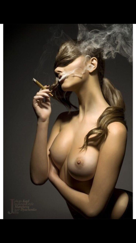 from Kalel cigar smoking nude women