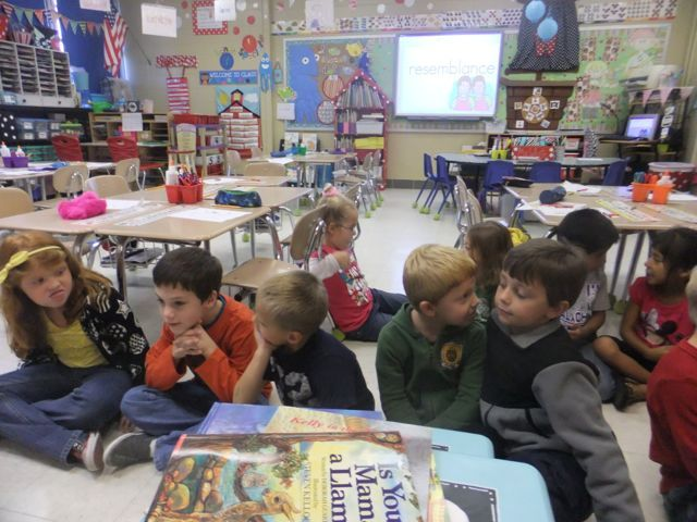 Something most teachers do is turn and talk partners while at the carpet reading a book.  I decided to finally take the plunge and discuss the way to have  a turn and talk partner with my Kinders.  It is important for all my kids to talk (especially my EL kiddos), even when they aren't comfortable sharing something out to the whole class, they can always