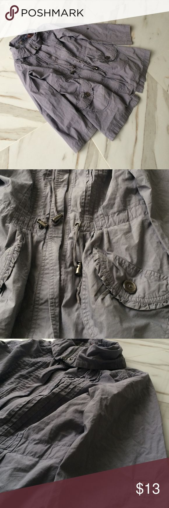 Denim Co Parka Style Light Coat Preloved Bought From London Hoodie Was Removed & Is Not Includes Denim Co Jackets & Coats