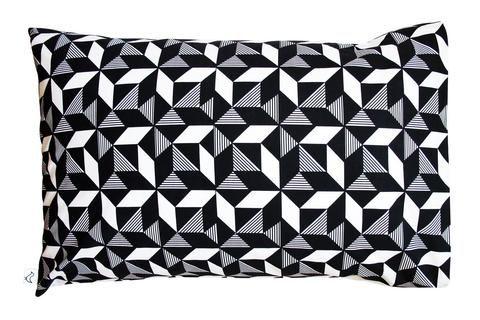 Geometric Monochrome Pillowcase