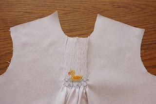 how to add smocking to a pattern