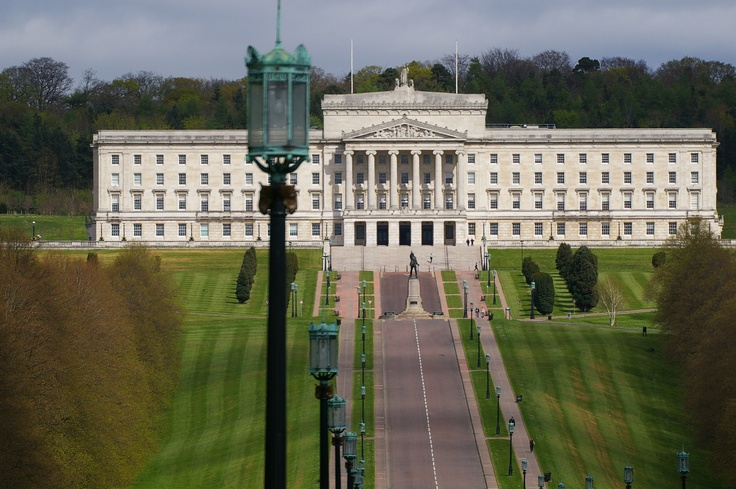 The Parliament Building at Stormont in Belfast.  This is the home to the Northern Ireland Assembly.
