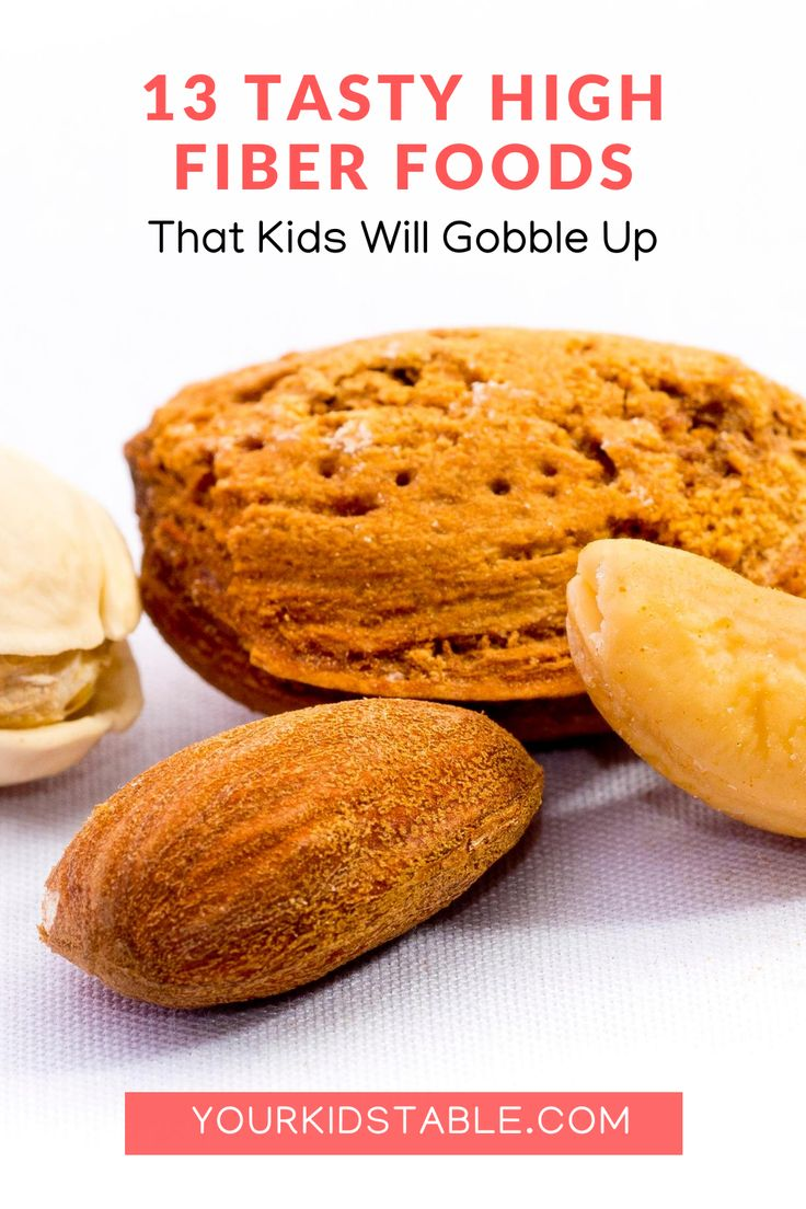 13 tasty high fiber foods that kids will gobble up your