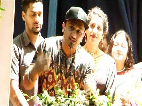 Honey Singh's AMAZING motivating speech for the youth part 2.